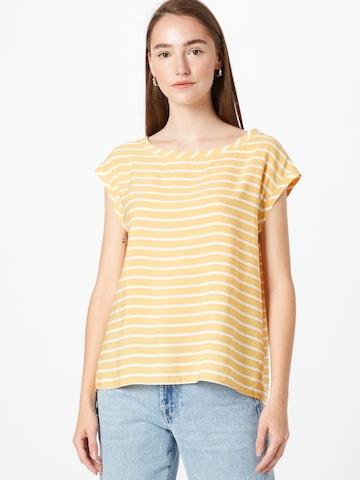 OPUS Blusenshirt 'Faune' in Gelb