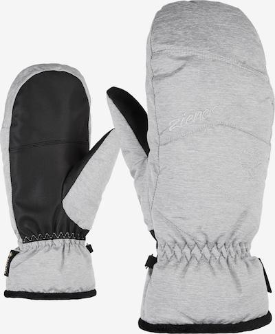 ZIENER Skihandschuhe 'KARRIL GTX MITTEN lady glove' in grau, Produktansicht