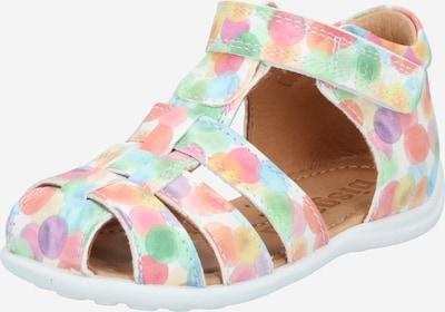 Atviri batai 'Lasse' iš BISGAARD , spalva - šviesiai mėlyna / mėtų spalva / šviesiai violetinė / persikų spalva / rožių spalva, Prekių apžvalga