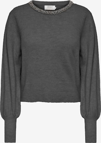 ONLY Sweater 'Alsia' in Grey