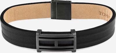 TOMMY HILFIGER Armbånd i brun / sort, Produktvisning