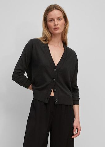 Marc O'Polo Knit Cardigan in Black