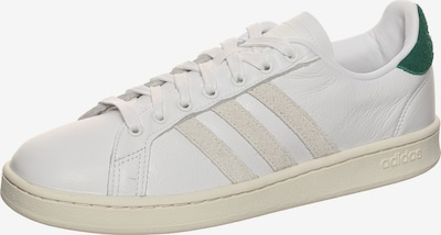 ADIDAS PERFORMANCE Sportschoen 'Grand Court' in de kleur Groen / Wit / Offwhite, Productweergave