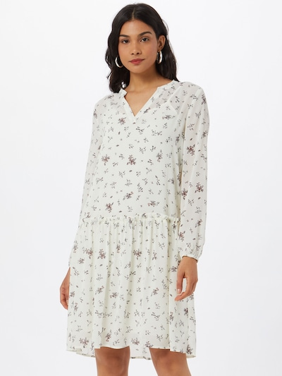 MOSS COPENHAGEN Kleid in mischfarben / weiß, Modelansicht