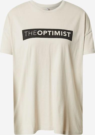 ONLY T-shirt 'SONIA' i beige / svart, Produktvy