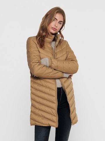 ONLY Between-Seasons Coat 'NEWTAHOE' in Brown