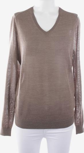 Balmain Strickpullover in M in braunmeliert, Produktansicht