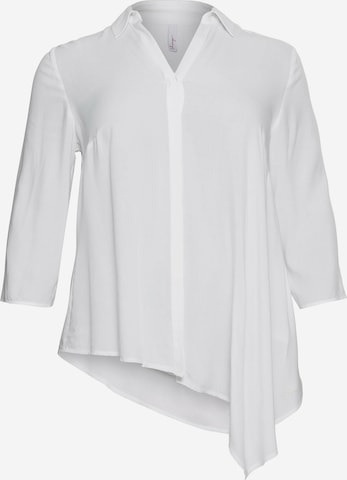SHEEGO Blouse in Wit