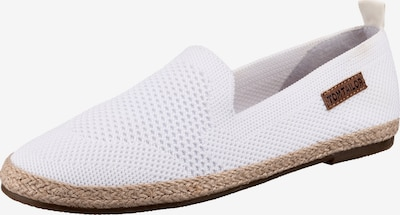 TOM TAILOR Espadrillas balts, Preces skats
