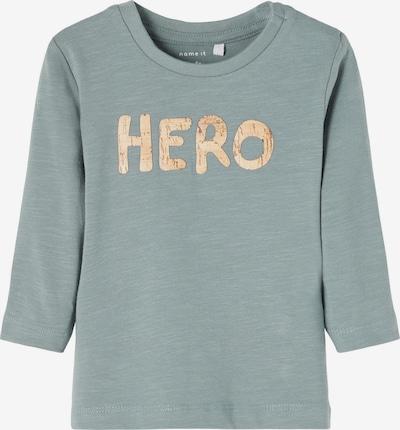 NAME IT Тениска 'Lionel' в пастелно синьо / светлокафяво, Преглед на продукта