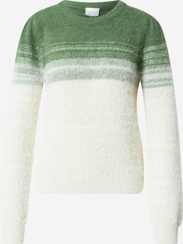VILA Sweater 'FEA' in Green