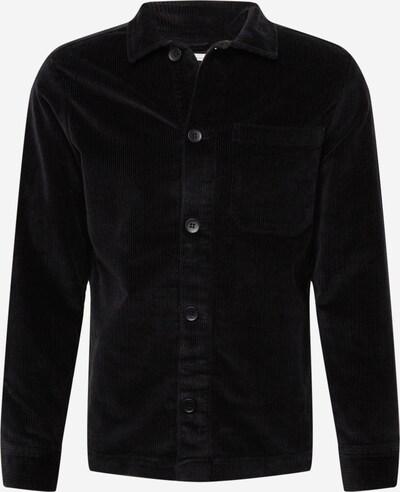 KnowledgeCotton Apparel Övergångsjacka 'Pine' i svart, Produktvy