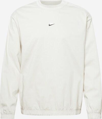 Nike Sportswear Sweatshirt in hellgrau / schwarz / weiß, Produktansicht