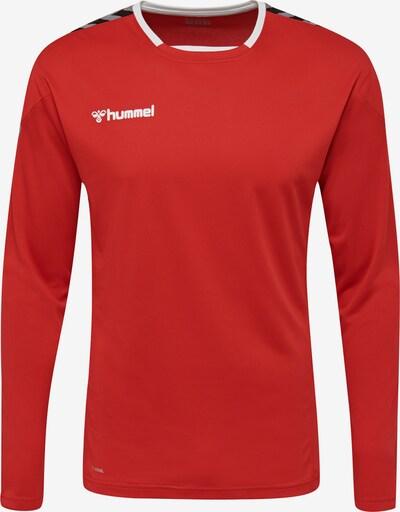 Hummel Functioneel shirt in de kleur Rood, Productweergave