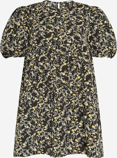 Missguided Plus Robe en mélange de couleurs / noir, Vue avec produit