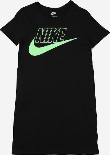 Nike Sportswear Kleid 'FUTURA' in hellgrün / schwarz, Produktansicht