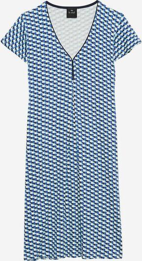 Le Chat Nachthemd 'Vita' in blau / navy / hellblau / weiß, Produktansicht
