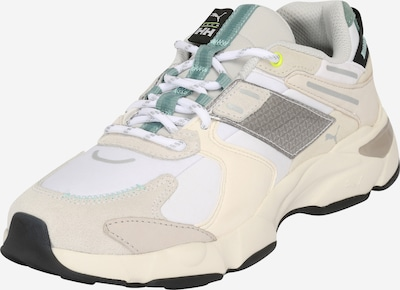 PUMA Sneakers low 'LQD Cell Extol Helly Hansen' in Beige / Grey / White, Item view