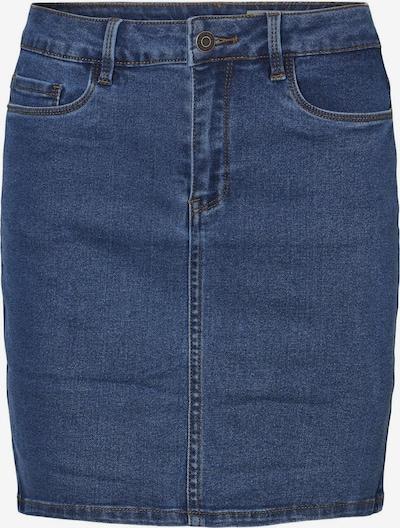 Vero Moda Curve Jupe 'HOT SEVEN' en bleu denim, Vue avec produit