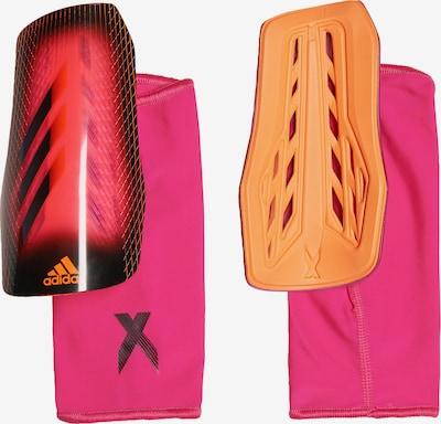 ADIDAS PERFORMANCE Schienbeinschoner 'X League' in orange / pink / pitaya / schwarz, Produktansicht