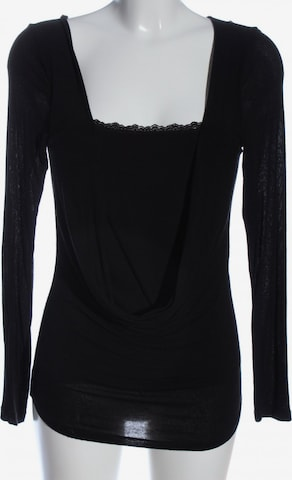 Susy Mix Top & Shirt in L in Black