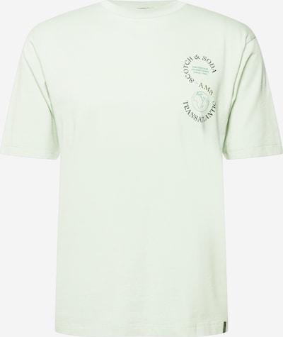 SCOTCH & SODA T-Shirt in pastellgrün / schwarz, Produktansicht