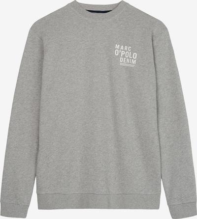 Marc O'Polo DENIM Sweatshirt in grau / weiß, Produktansicht