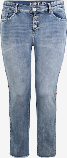Purple Lily Jeans 'Heather' T112 in blau / blue denim / hellblau, Produktansicht