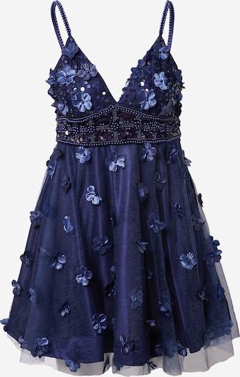 A STAR IS BORN Robe de cocktail en bleu marine, Vue avec produit