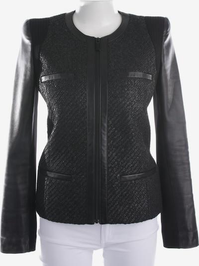 Barbara Bui Lederjacke in M in schwarz, Produktansicht