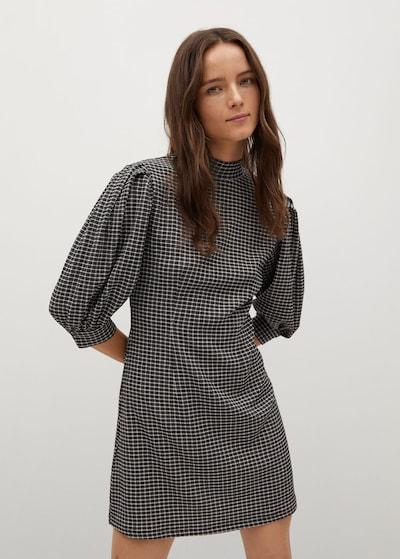 MANGO Kleid 'reme' in braun, Modelansicht