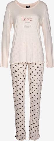 VIVANCE Schlafanzug 'Dreams' in Pink