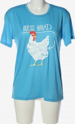 Fashion T-Shirt in L in Blau
