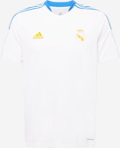 türkiz / sárga / fehér ADIDAS PERFORMANCE Mezek 'Real Madrid', Termék nézet