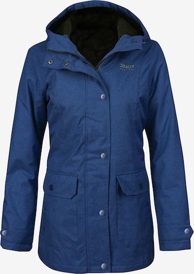 Dingy Rhythm Of The Rain Tussenmantel 'Cherry' in de kleur Blauw, Productweergave