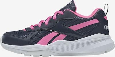 REEBOK Sneaker in dunkelblau / hellpink, Produktansicht