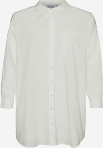 Tunica 'Percey' de la Vero Moda Curve pe alb
