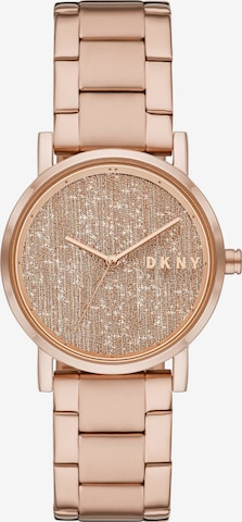 DKNY Analog Watch in Pink