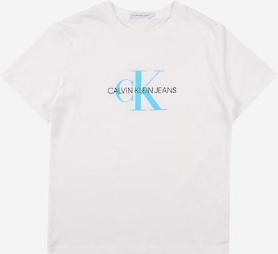Calvin Klein Jeans T-Shirt in blau / schwarz / weiß, Produktansicht