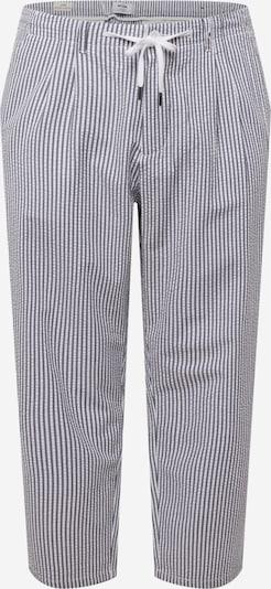Only & Sons Big & Tall Kalhoty se sklady v pase 'LEO' - námořnická modř / bílá, Produkt