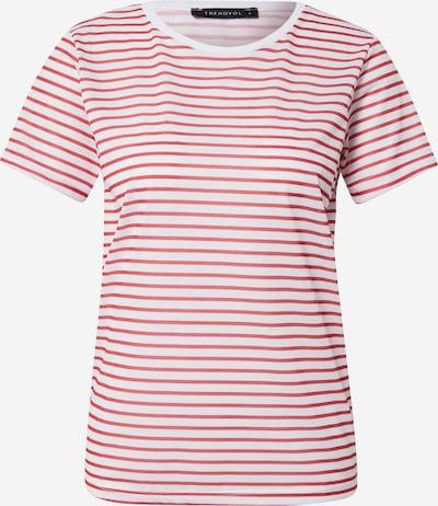 Trendyol T-Shirt in rot / weiß, Produktansicht