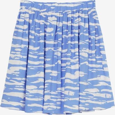 Marc O'Polo DENIM Rock in blau / weiß, Produktansicht