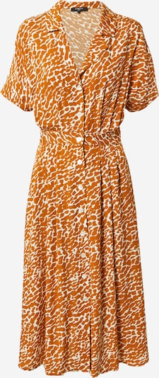 Rochie tip bluză FRNCH PARIS pe portocaliu închis / alb, Vizualizare produs