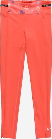 Pantalon de sport NIKE en orange