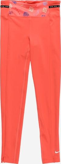 Pantaloni sport NIKE pe albastru / portocaliu / negru / alb, Vizualizare produs