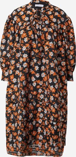 Hofmann Copenhagen Kleid 'Lisa' in orange / schwarz / weiß, Produktansicht
