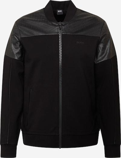BOSS ATHLEISURE Sweatjacke 'Selux' in schwarz, Produktansicht