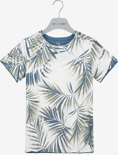 Key Largo T-Shirt in grün / weiß, Produktansicht
