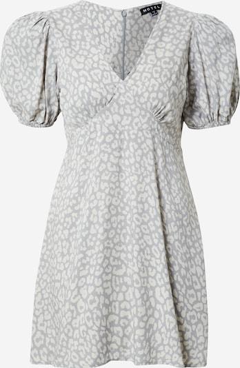 Motel Kleid 'Elfy' in grau / weiß, Produktansicht