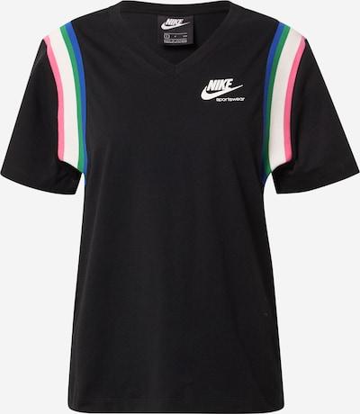 Nike Sportswear Тениска в пъстро / черно, Преглед на продукта
